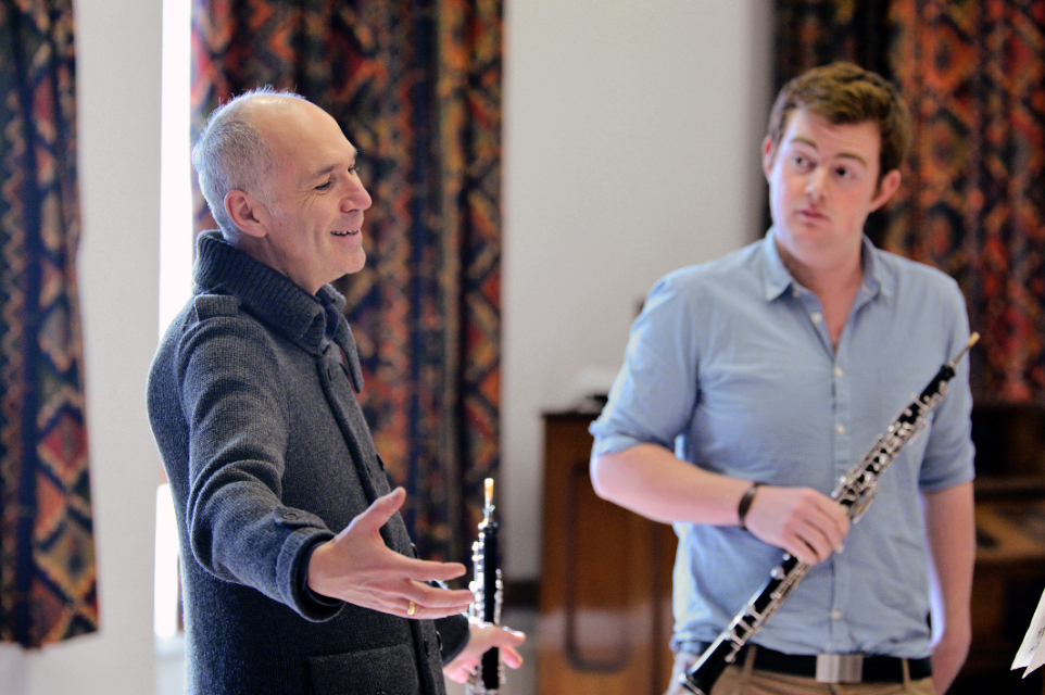 Oboe Masterclass with Jacques Tys