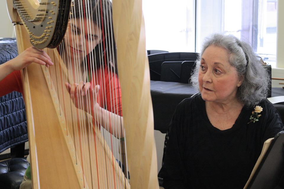 Harp Masterclass with Marisa Robles - CANCELLED