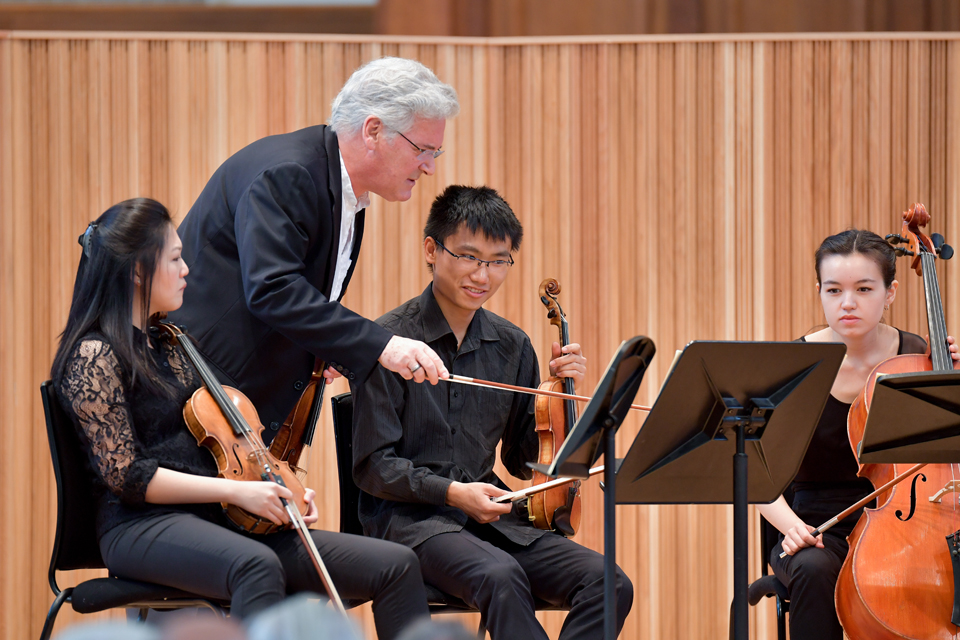 RCM In Residence: Workshop with Pinchas Zukerman