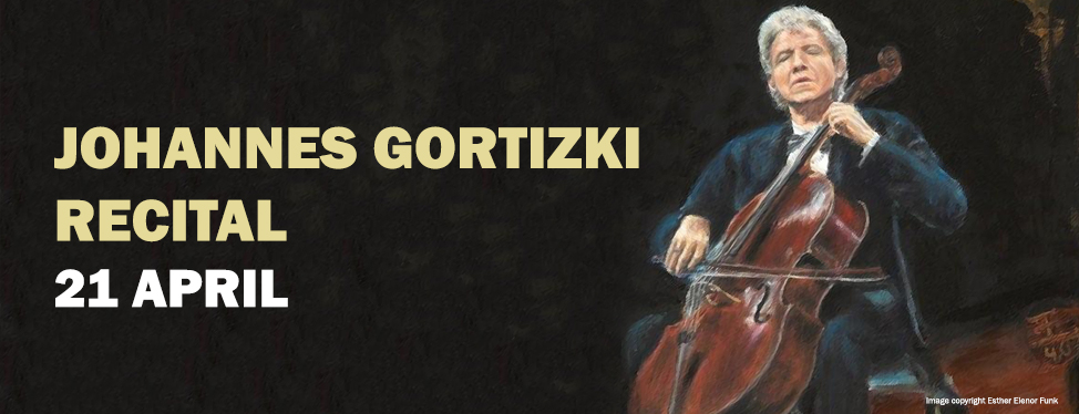 Johannes Goritzki Recital - April 2015