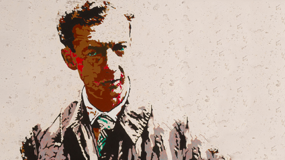 Portrait of Benjamin Britten by Jeffrey Spedding