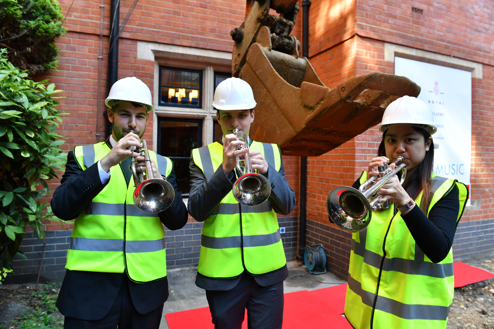 Royal College of Music breaks new ground with ambitious campus redevelopment