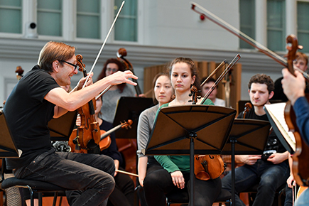 RCM musicians join Chamber Orchestra of Europe Academy following collaborative project