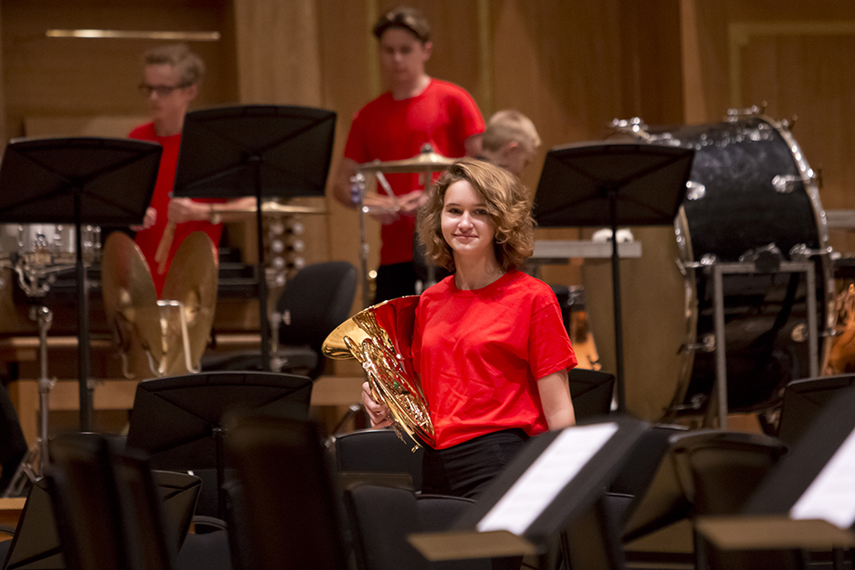 RCM Junior Department collaborates with youth music service to create Darwin's Bio Orchestra