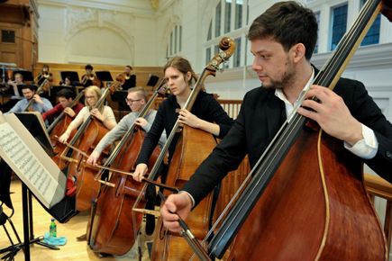 The Amati Magazine features the RCM Strings Faculty
