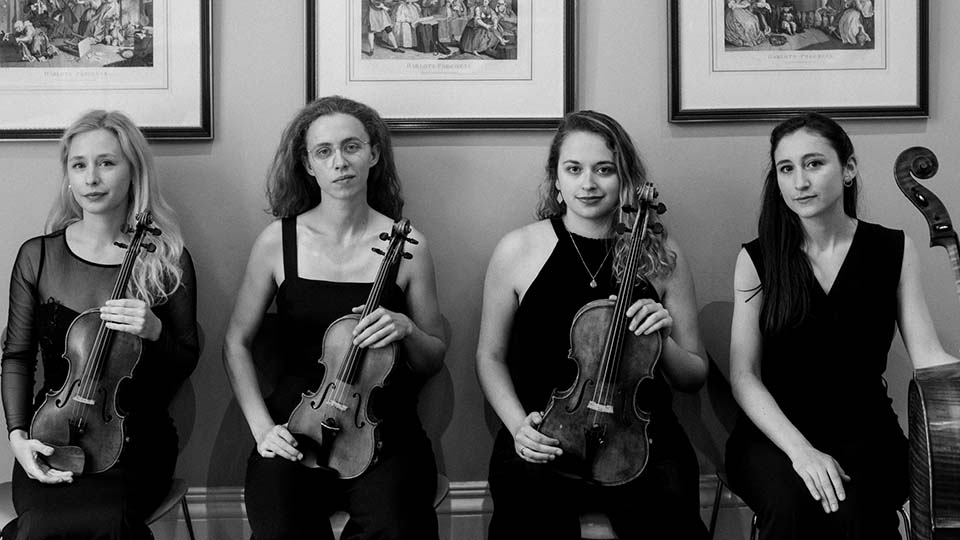 RCM String Quartet Fellows 2020 Echea Quartet