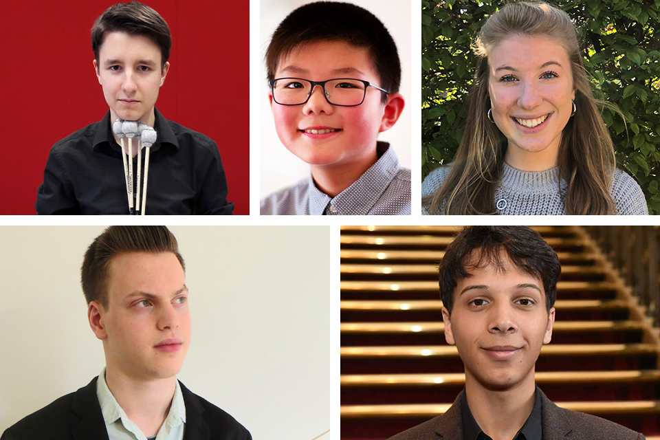 RCM musicians reach 2020 BBC Young Musician category finals