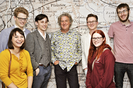 James May opens Prince Consort Village