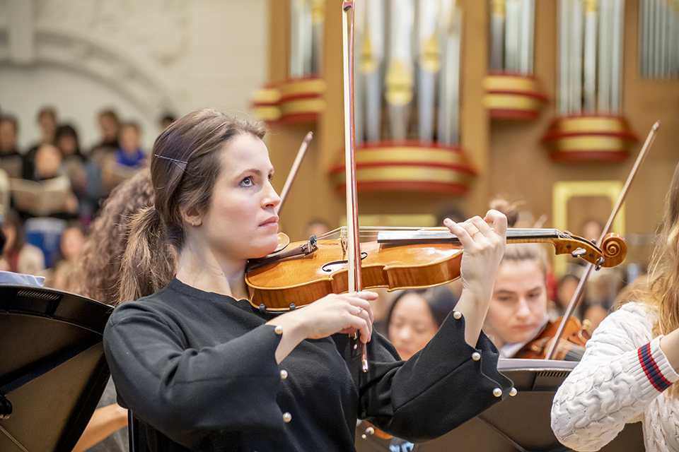 RCM musicians selected for London Philharmonic Orchestra schemes to prepare for profession