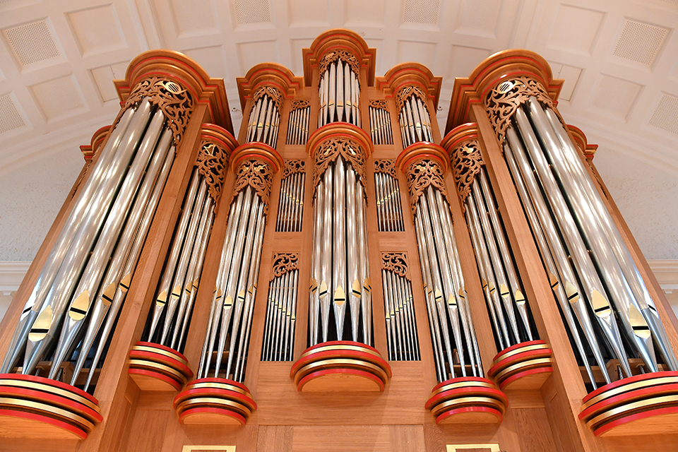 Pulling out all the stops: unveiling the new RCM organ