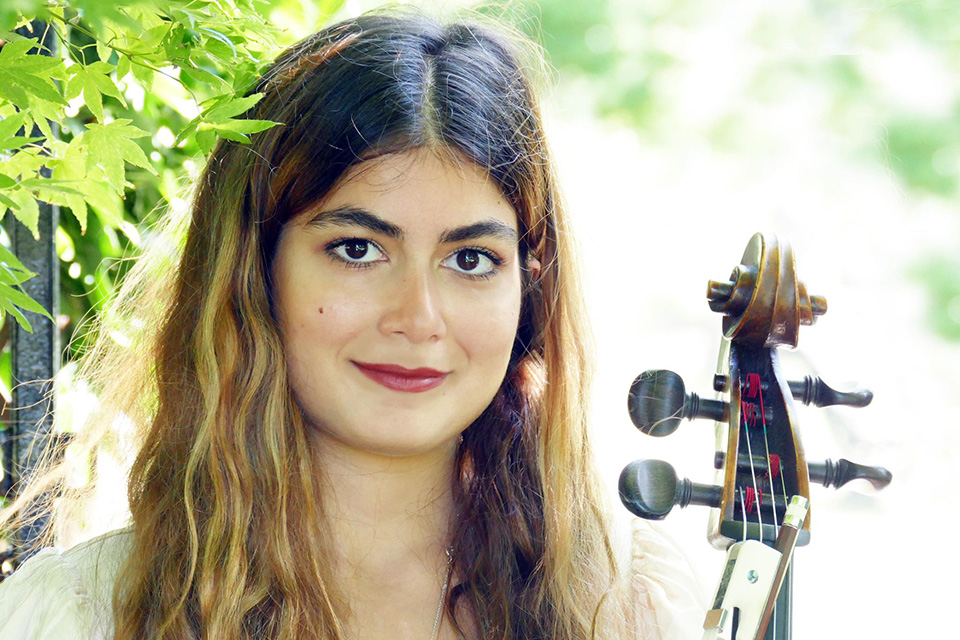 Niki Moosavi, RCM Students' Union Diversity Officer and fourth-year BA cellist