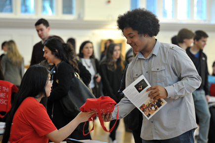 Prospective Students Visit RCM at Open Day 2016