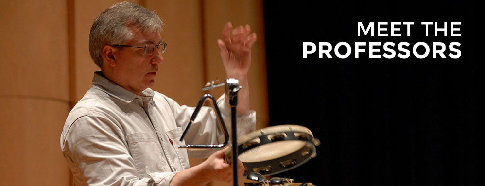 Percussion Meet the Professors