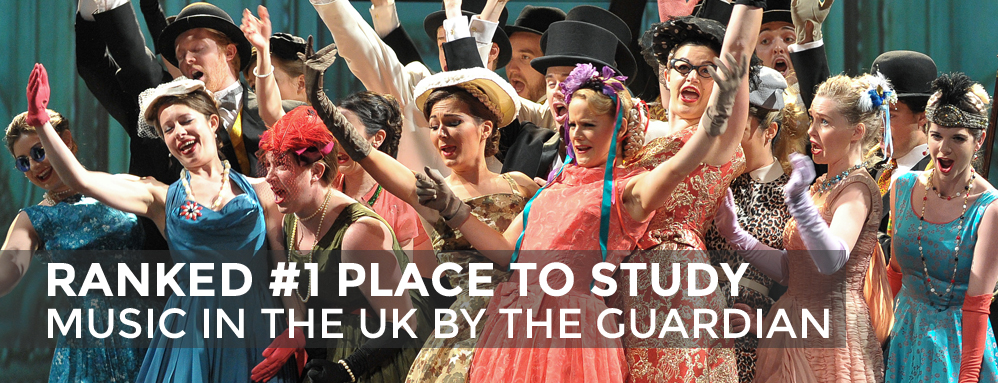 Ranked No 1 Place to Study Music in the UK By the Guradian