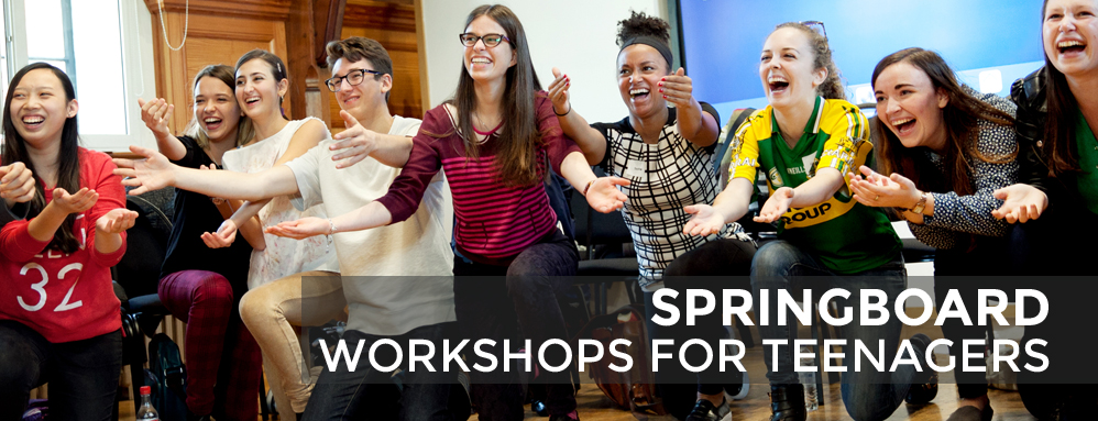 RCM Sparks Springboard workshops for teenagers