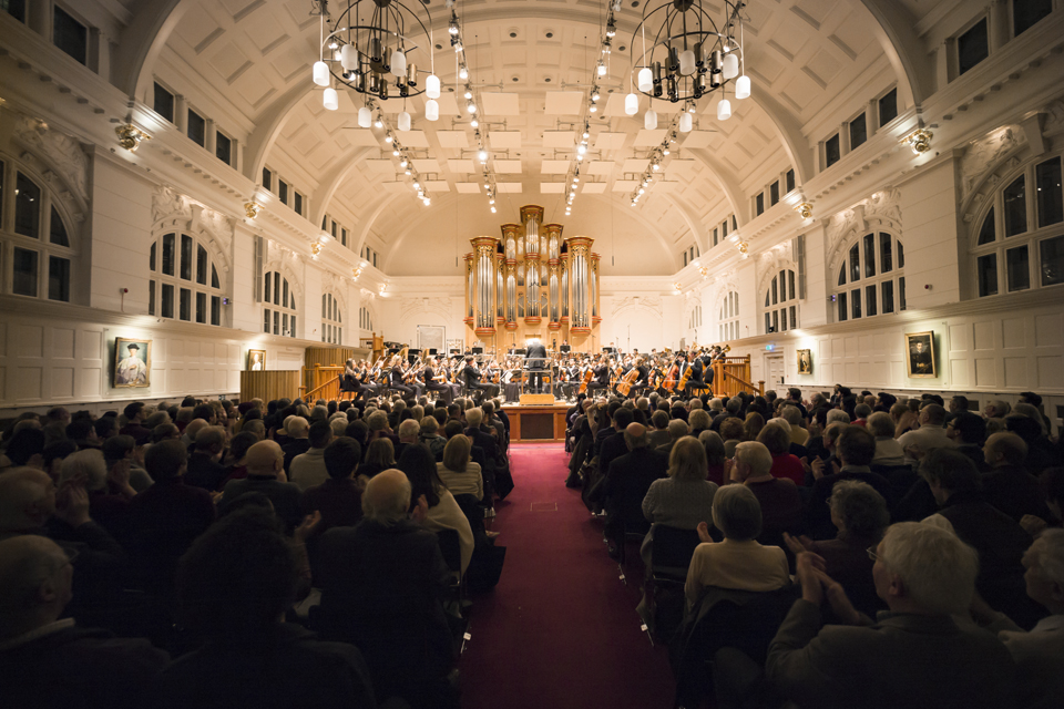 RCM Symphony Orchestra in the Amaryllis Fleming Concert Hall