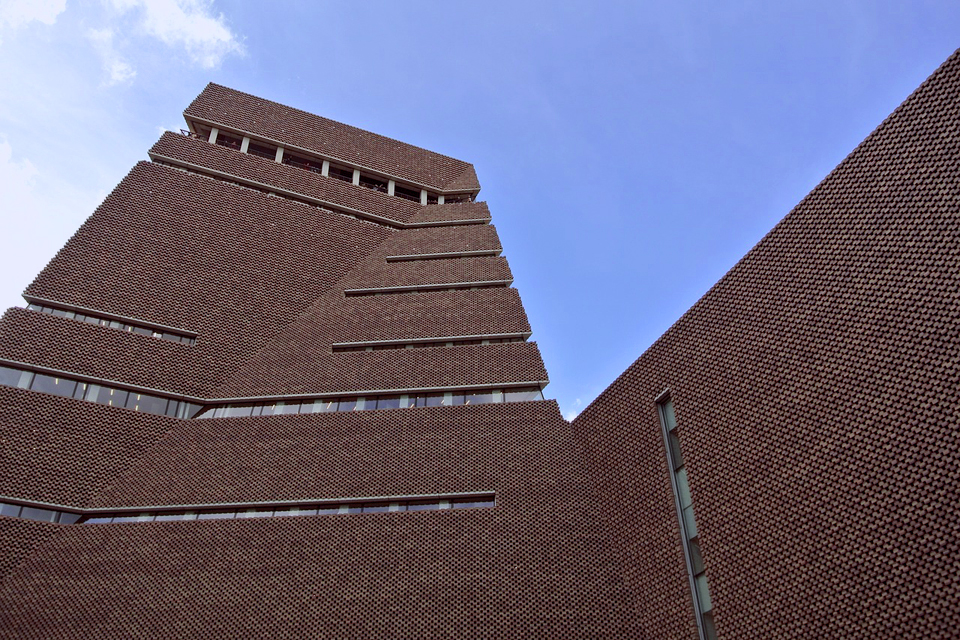 The new Switch House at the Tate Modern - one of the world's finest modern art galleries