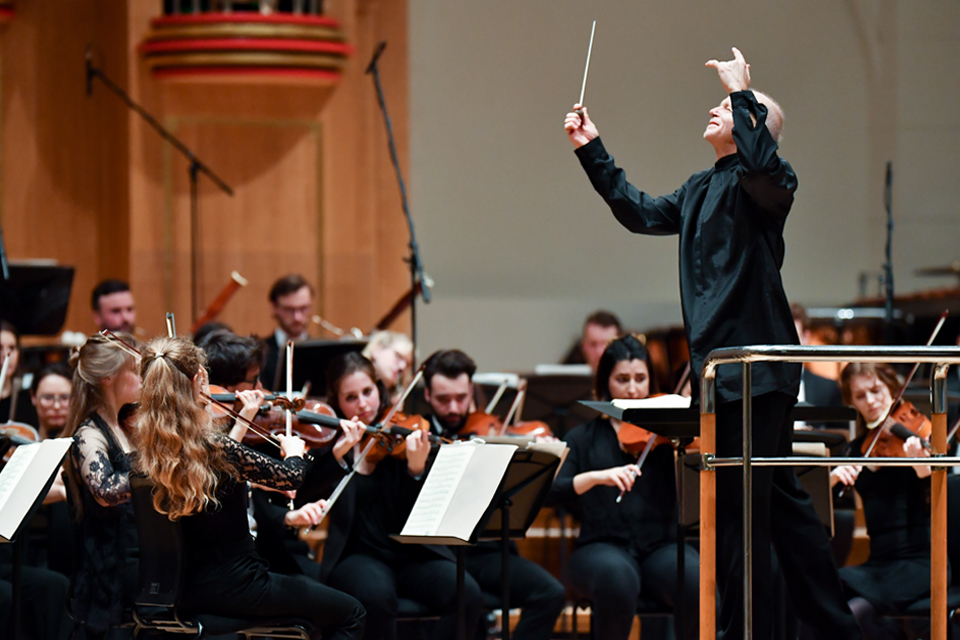 BBC Radio 3 to broadcast RCM Symphony Orchestra with Thomas Zehetmair