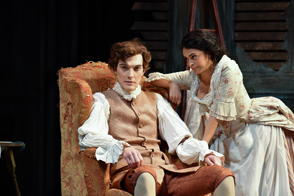 A scene from the RCM's production of Le nozze di Figaro