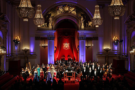 Royal Gala at Buckingham Palace celebrates the Royal College of Music