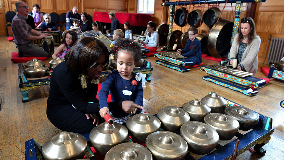 A family gamelan workshop