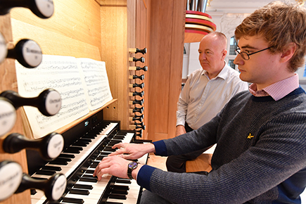 RCM to unveil new world-class organ