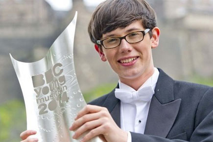 Pianist Martin James Bartlett is BBC Young Musician 2014