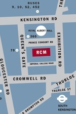 Map of the RCM