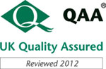 QAA checks how UK universities and colleges maintain the standard of their higher education provision. Click here to read this institution's latest review report. The QAA diamond logo and 'QAA' are registered trademarks of the Quality Assurance Agency for Higher Education
