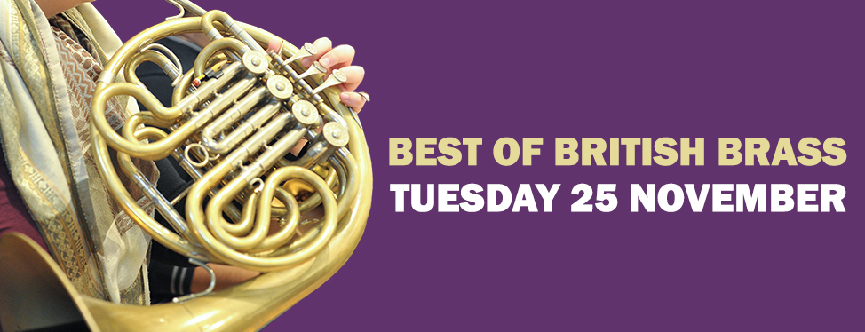 Best of British Brass - Tuesday 25 November