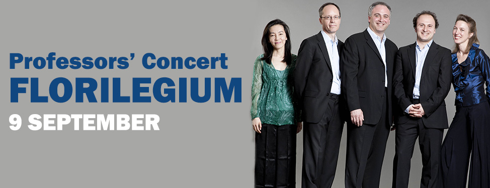 Professors' Concert: Florilegium - 9 September